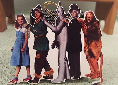 The Wizard Of Oz Christmas Tree Ornament Characters 1997