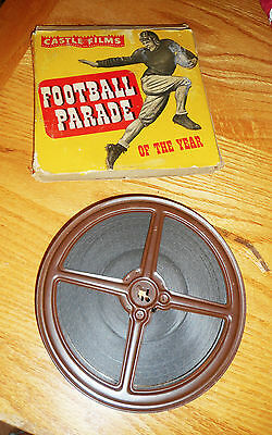 Vintage 1940s Castle Films Football Parade of the Year 16mm Movie in Box 335