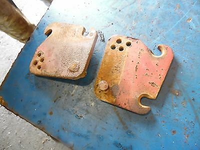 1951 Farmall Super A tractor draw bar plates