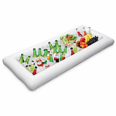 Inflatable Party Ice Cooler Serving & Salad Bar Drinks Tray Portable Beer Holder
