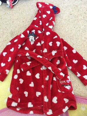 Girls 12-18 Months Dressing Gown