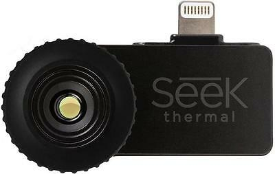 New SEEK Compact Thermal Imaging Camera for iOS iPhone Black LW-AAA