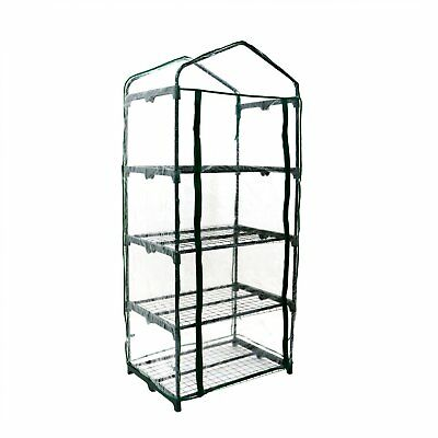 NEW! 4-Tier Mini Growhouse Garden Greenhouse