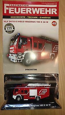 Faszination Feuerwehr Nr. 45 - HLF 24/16-5 Iveco Magrius 190 E 30 W