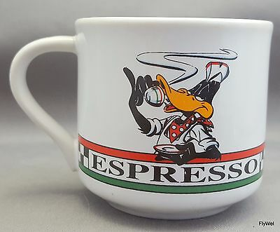 Warner Bros Looney Tunes Daffy Duck Espresso Cup 1993 Acme Home Works 2 oz