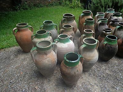 19Th Century Terra Cotta Turkish Olive Oil Jars / Priced Individually $65 Each