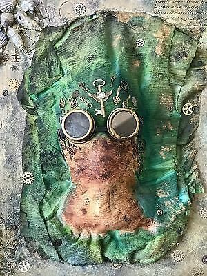Steampunk Mixed Media Original Artwork - Limited Edition - Signed