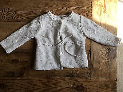 The Little White Company Baby Cardigan 12-18 Months