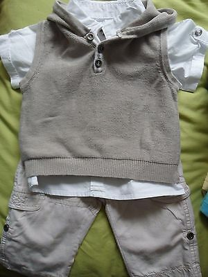 Boys  Summer 3 Piece Outfit George Size 3-6 Months