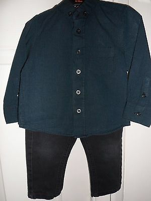 George Boy's Shirt and Jeans size 12-18 months