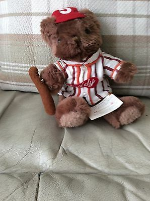 BOB THE BASEBALL PLAYER  - TEDDY BEAR COLLECTION - Tagged