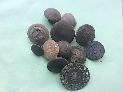 Metal detecting find (old buttons)