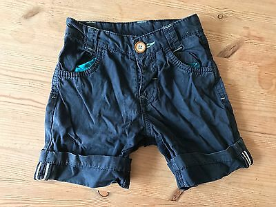 Ted Baker Baby Boy Shorts 12-18 Months Navy Smart