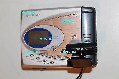 Sharp Md Sr505 Minidisc Player  Md With Microphone
