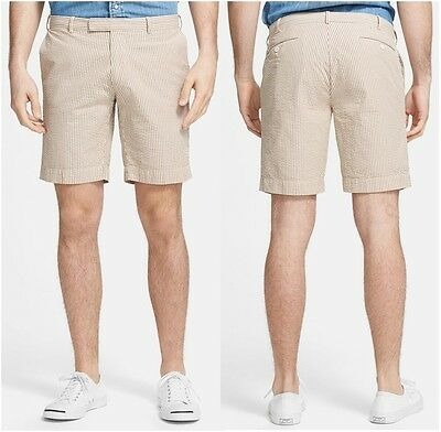 Polo Ralph Lauren men's 100% cotton seersucker shorts size 38 ~ New with tag $79