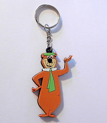 Fun YOGI BEAR HANNA BARBERA Keychain Key Ring Rubber