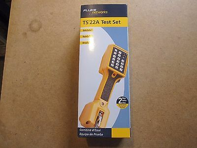 NEW Fluke model TS 22A TS22A test set in retail box.