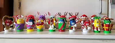 M&M candy toys holiday toppers