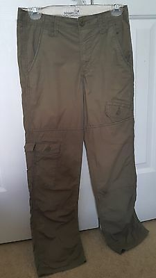 Lightweight Khaki Cargo Pants for Kids Size 12 by Old Navy