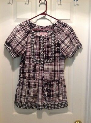 Women's KOI Uniform  Scrub Top Size Small