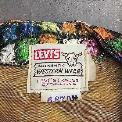 Vintage 1950'S LEVI'S SHORTHORN VEST JACKET - PLAYING CARD BUTTONS- DEADSTOCK