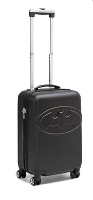 New STRONG Batman Rolling Hardside Luggage For Travel With 360° Wheels Suitcase