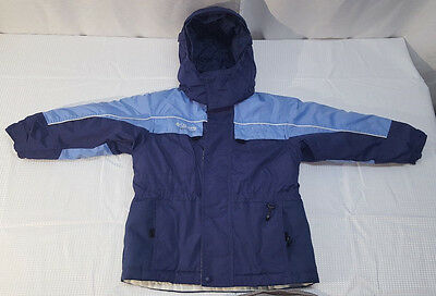 Columbia Tectonite Boys Girls size 6 Kids hood jacket  blue ski snow coat winter