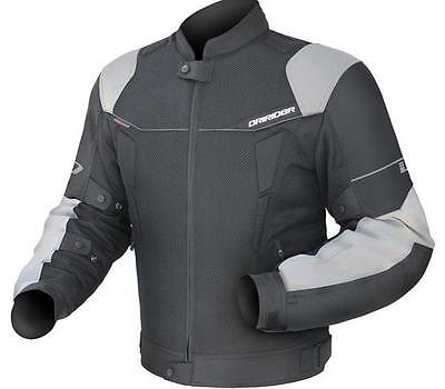 New DRIRIDER CLIMATE CONTROL 3 JACKET – BLACK / XENON from Motorcycle Stuff