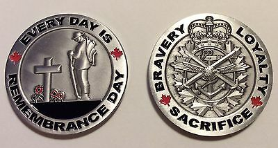 CHALLENGE COIN...Every Day Is Remembrance Day