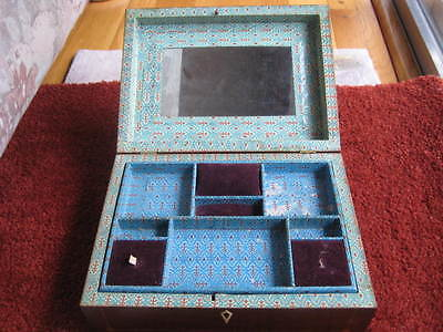 Original Antique Shaker made sewing box, complete, exceptional condition.