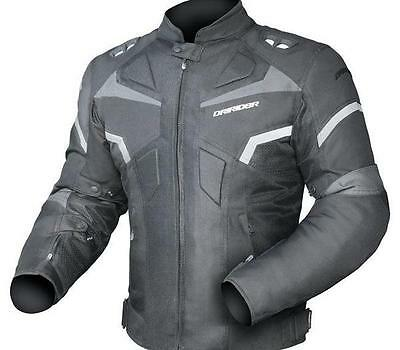 New DRIRIDER CLIMATE CONTROL PRO 3 JACKET BLACK / BLACK from Motorcycle Stuff