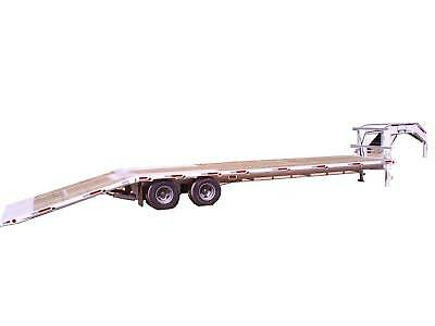 Brute Trailers Hydraulic dovetail, gooseneck tandem dual Dexter axles