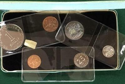 Trinidad & Tobago 1970 Proof Set Royal Mint Issue Low Mintage
