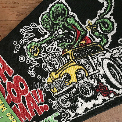 MAZOOMA Rat Fink Mat ED ROTH Hot Rod GASSER Drag Racing FLATHEAD 32 Ford 55 Chev