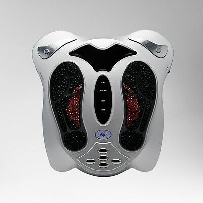 Circulation Medical Blood Booster Electromagnetic Foot Massager Infrared +8 pads