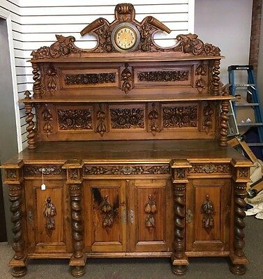 Antique German Sideboard
