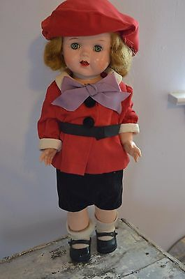 "Vintage 1950s 16"" Saucy walker Doll by Ideal Toy Company"