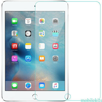 100% GENUINE TEMPERED GLASS FILM LCD SCREEN PROTECTOR FOR Apple iPad 2 3 4