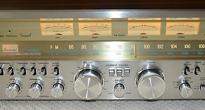 Absolutely gorgeous Sansui G9000 receiver with original manual