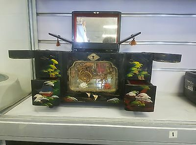 Chinese Antique Jewellery Box message for postage quote