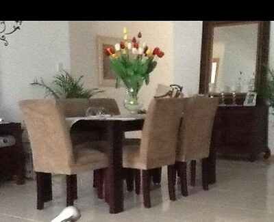 Dining Table And 6 Chairs Mint Condition
