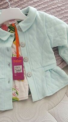 Light Green  Kids Girls Ted baker Jacket 12-18 months