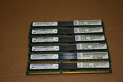 24GB 6x 4GB IBM Micron PC3-10600R DIMM Server Memory Upgrade
