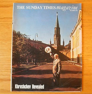 THE SUNDAY TIMES MAGAZINE December 13 1964 Khrushchev Revealed