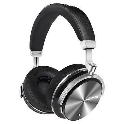 BLUEDIO T4S  Wireless Bluetooth v4.2 Headphones Noise Cancelling Stereo Headsets