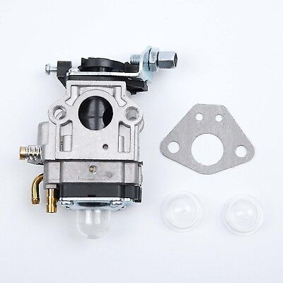 15mm Carburetor Carb Set For Trimmer Brush Cutter Chainsaw Lawn Mower 43cc 49cc