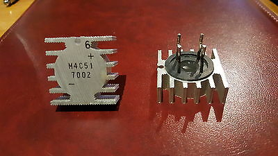 M4C51 200V 5A Mitsubishi Bridge Rectifier - TWO pieces - USED