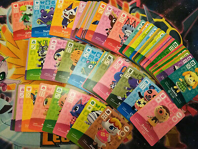 Animal Crossing Series 4 Amiibo Cards NM Pick and Choose