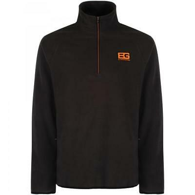 Craghoppers Bear Grylls Mens Walking Hiking Core Fleece - Black Pepper All Sizes