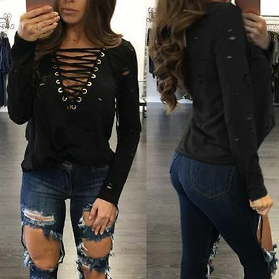 Fashion Women Ladies Summer Sleeve Shirt Loose Casual Blouse Tops T-Shirt S QY03